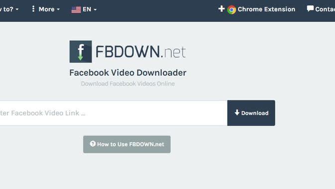 Fbdown.net (sumber: Fbdown.net)