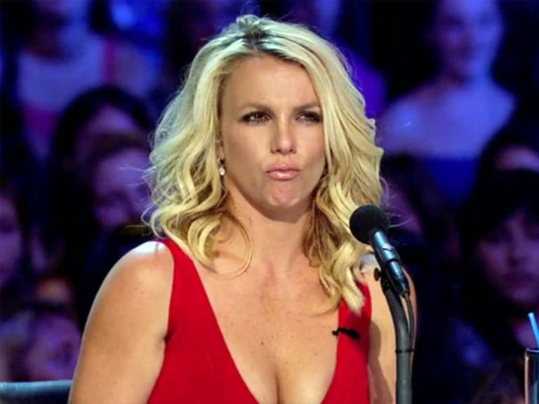 'X Factor': The Facial Expressions of Britney Spears