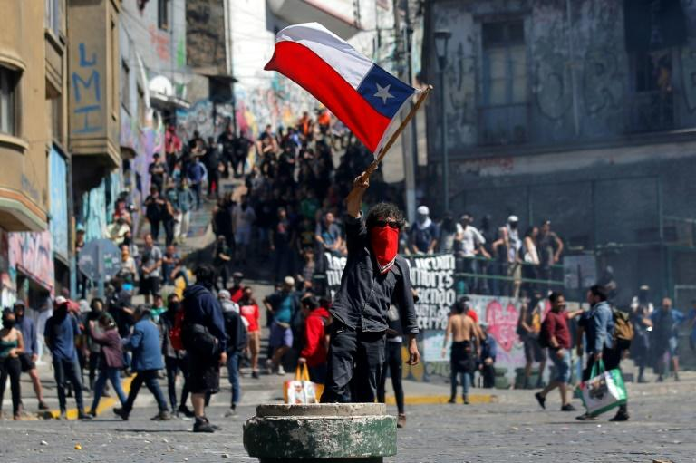 Almost 1,500 people have been detained since Chile's outbreak of social unrest began