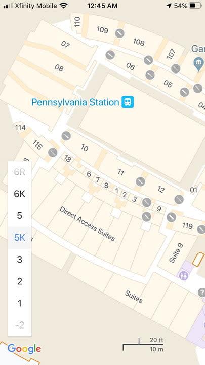 how to use google maps penn5