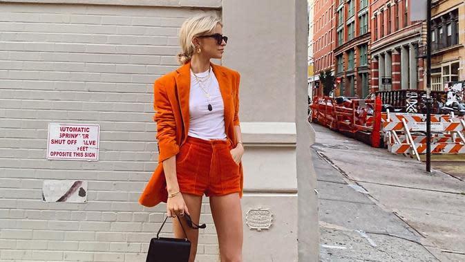 Tren warna dari New York Fashion Week (Instagram @carodaur)