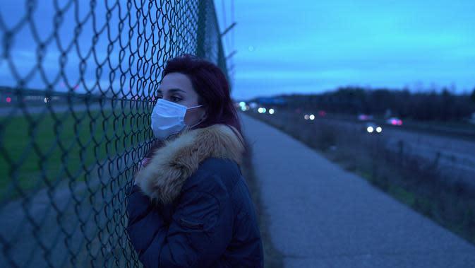 Ilustrasi masker pencegah virus corona   unsplash.com/@thedotter