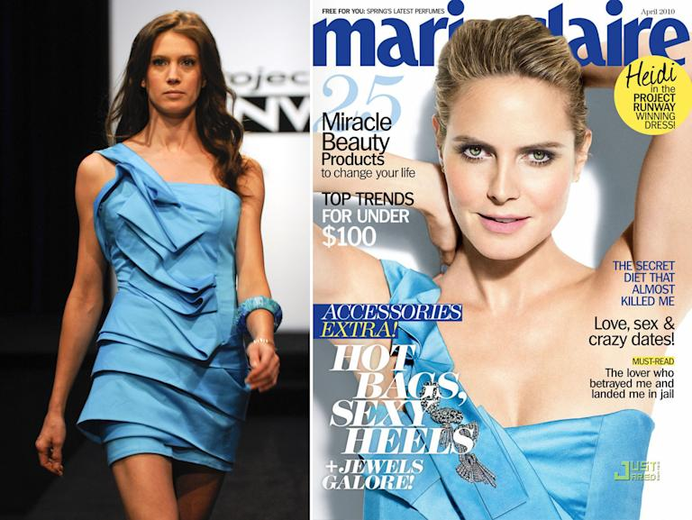 "Heidi Klum Rocks 'Project Runway' Designs - Anthony Williams: Season 7, 5th place; ""All Stars"" 9th place"