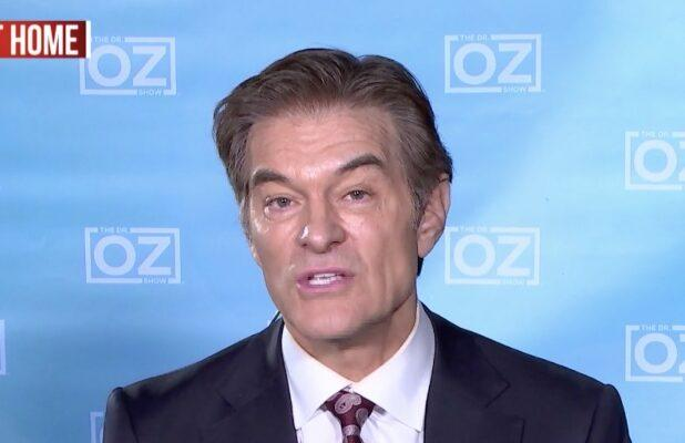 'Dr. Oz': How to Unpack Groceries to Keep Coronavirus Out of Your Kitchen (Video)