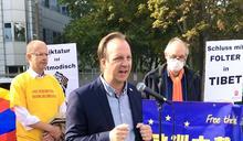 【歐洲之聲】抵抗中國,還我自由——「十一」柏林中國使館前示威抗議側記
