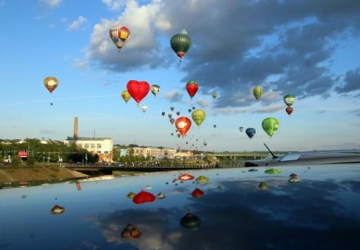 Balloon enthusiasts came to Lithuania from around the world