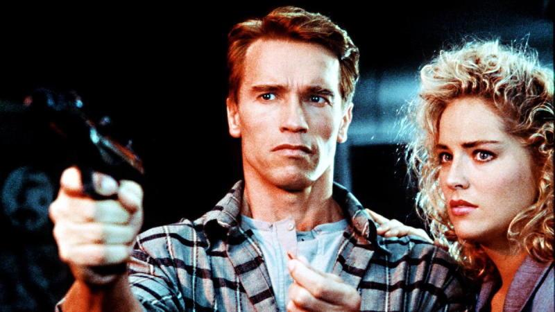 Arnold Schwarzenegger in Total Recall, on Netflix