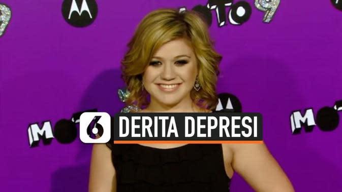VIDEO: Kelly Clarkson Ungkap Derita Depresi di Masa Lalu