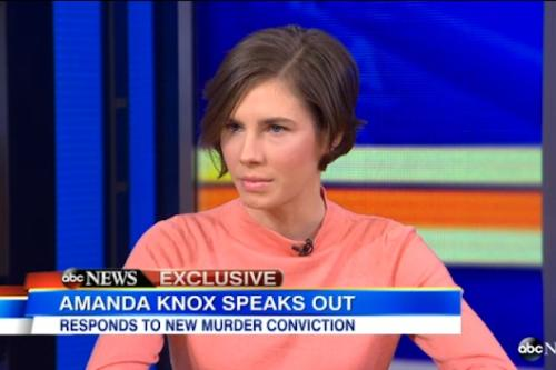 Amanda Knox on Verdict: 'It Really Hit Me Like a Train' (Video)