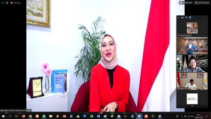 Angkie Yudistia, Staf Khusus Presiden RI.