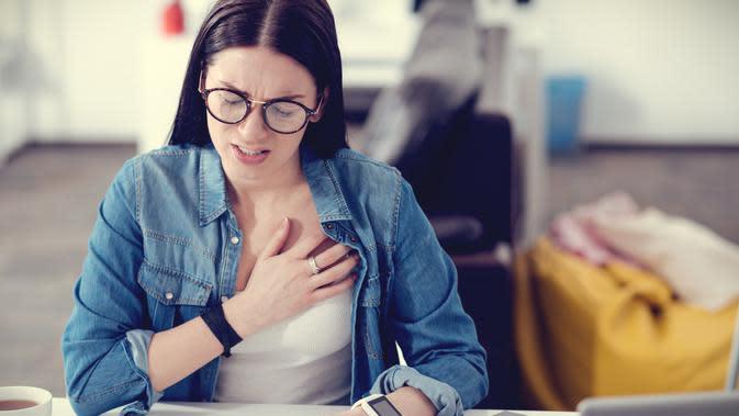 Ilustrasi penyakit jantung (iStockphoto)