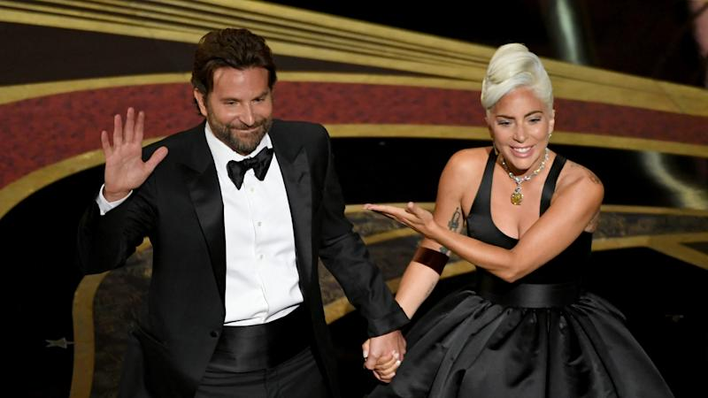 Bradley Cooper and Lady Gaga perform onstage during the 91st Annual Academy Awards at Dolby Theatre on February 24, 2019 in Hollywood, California.