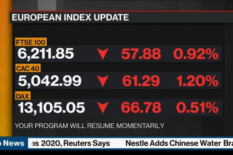 Saham Prancis jatuh, Indeks CAC 40 merosot 1,33 persen