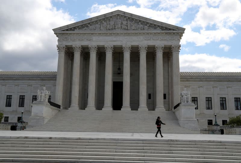 U.S. Supreme Court wary of presidential 'harassment' in Trump finances fight