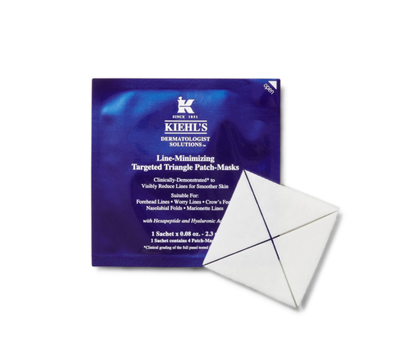 Kiehl's Line-Minimizing Targeted Triangle Patch Mask. Image via Nordstrom.