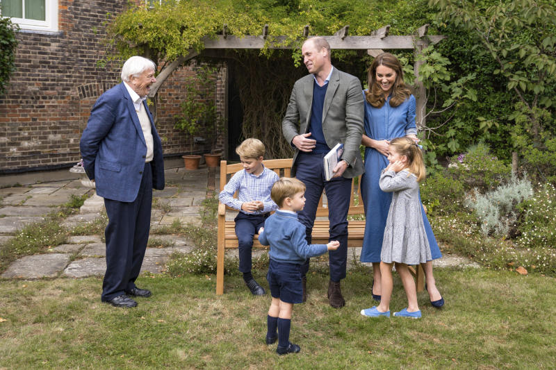 Britain Royals Attenborough