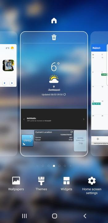 galaxy s9 tips and tricks update home screen