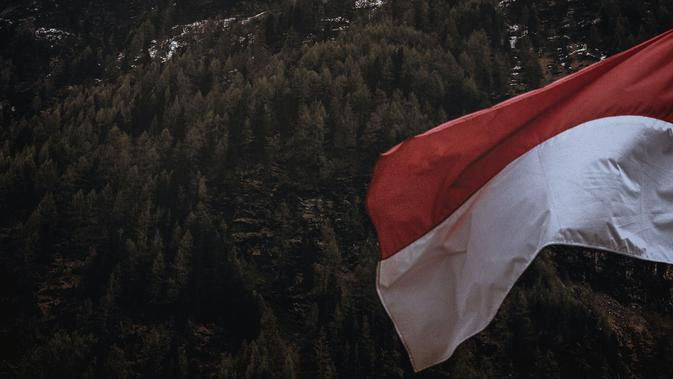 Ilustrasi Bendera Indonesia. (Photo by eberhard grossgasteiger on Unsplash)