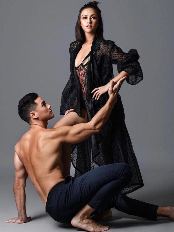 Nana Mirdad bersama Andrew White (Instagram/nanamirdad_)