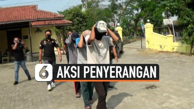VIDEO: Polisi Tangkap 3 Remaja Pelaku Penyerangan Warga