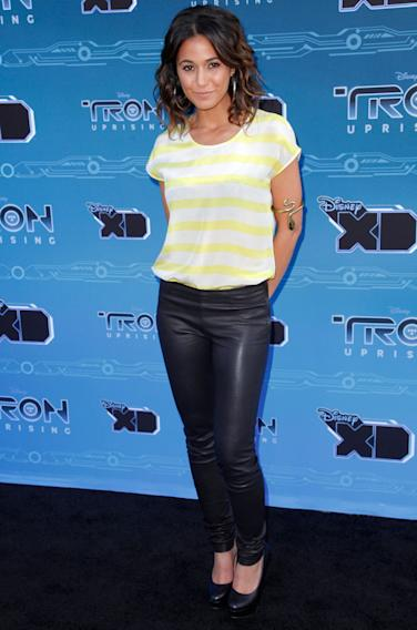 "Disney XD's ""TRON: Uprising"" Press Event - Emmanuelle Chriqui"