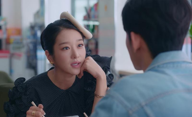 Seo Ye Ji in Korean drama It's Okay To Not Be Okay.