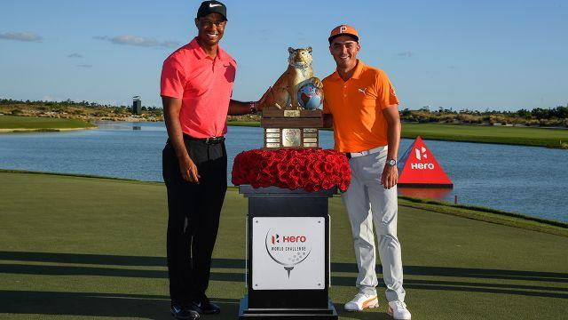 Tiger and Fowler. Image: Getty