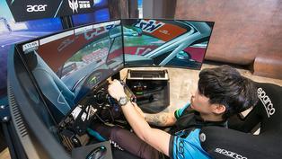 宏碁舉辦首屆Predator League虛擬賽車聯賽、校園電競列車4月中啟動!