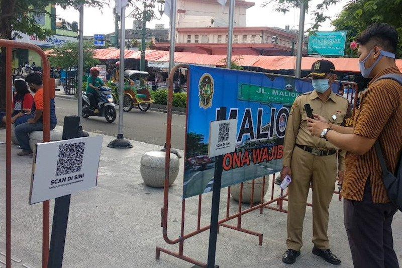 "Yogyakarta akan perbanyak titik QR Code untuk pendataan dan ""tracing"""