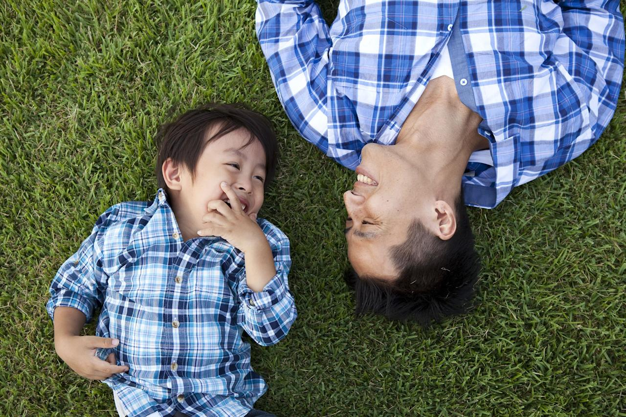 """<p>There's no relationship quite like the one between a father and a son. On <a href=""""https://www.goodhousekeeping.com/holidays/fathers-day/"""" target=""""_blank"""">Father's Day</a>, let your superhero know how much he means to you with <a href=""""https://www.goodhousekeeping.com/holidays/fathers-day/g2419/fathers-day-quotes/"""" target=""""_blank"""">a Father's Day quote</a> specifically about your amazing bond. Whether you look up to the man that raised you, or you've become a father yourself and are just now realizing the sacrifices he's made for you through the years, you'll be able to relate to these father-son quotes.<br></p><p>So if you haven't written your Father's Day card yet, save a quote or two from this list. Sometimes it takes people like James Baldwin, Michael Jordan, and even Brad Pitt to put into words how special the relationship between a father and a son really is. Make this June 21 one for the books with a <a href=""""https://www.goodhousekeeping.com/holidays/fathers-day/g336/fathers-day-gift-guide/"""" target=""""_blank"""">thoughtful Father's Day gift</a>, too! </p>"""