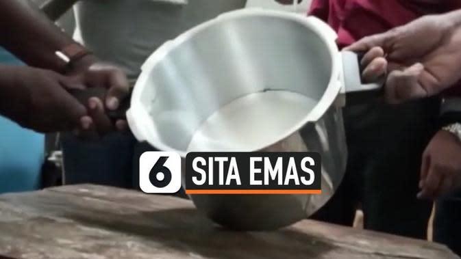VIDEO: Petugas Bandara Sita Emas di Dalam Panci Presto