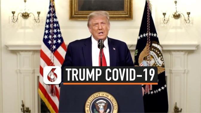 VIDEO: Sebelum Positif Covid-19, Trump Sempat Sebut Pandemi Segera Berakhir