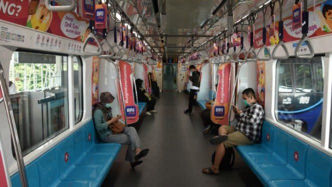 Demo Rusuh Lagi, MRT Tutup Operasional Pukul 18.00 WIB