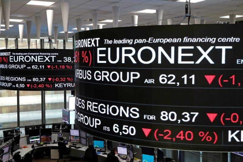Bursa saham Prancis jatuh, Indeks CAC-40 berakhir anjlok 2,01 persen
