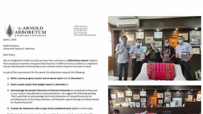 Kalahkan Ribuan Pesaing, ASN Balai TANAGUPA KLHK Raih Penghargaan Dunia. foto: Biro Humas Kementerian LHK
