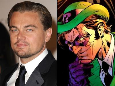 Leonardo DiCaprio was sought for Riddler role