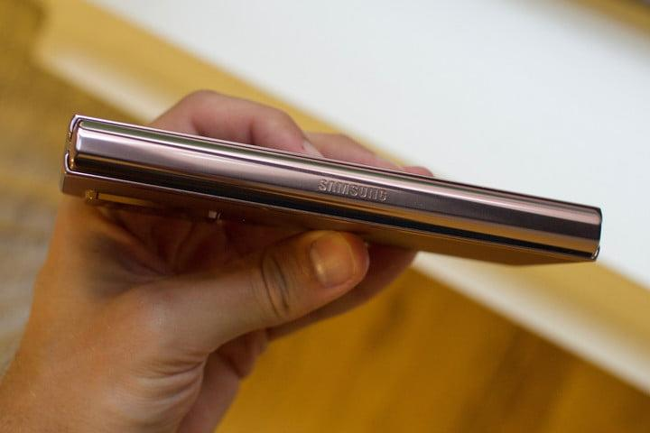 samsung galaxy z fold 2 first hands on features price photos release date side hinge