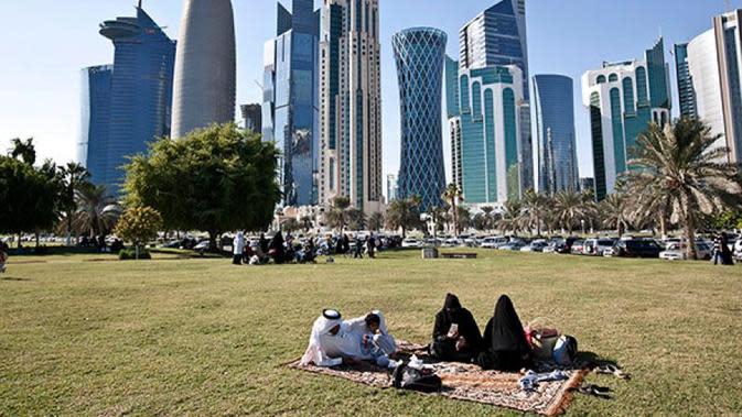 Qatar. (Sumber: National Geographic)