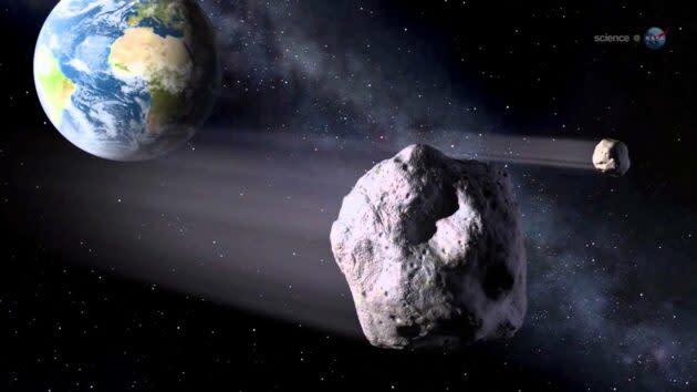 Near-Earth asteroids