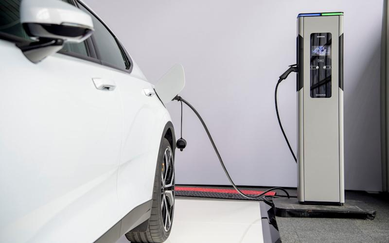 Polestar 2 battery-electric car - driven 08/07/20 - Andy Morgan