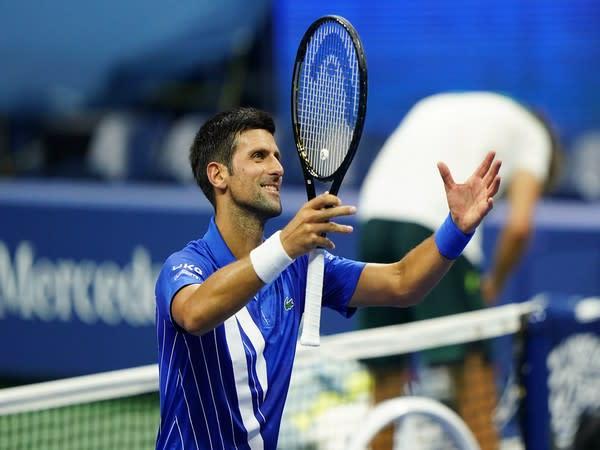 Serbian tennis player Novak Djokovic (Photo/US Open Tennis Twitter)