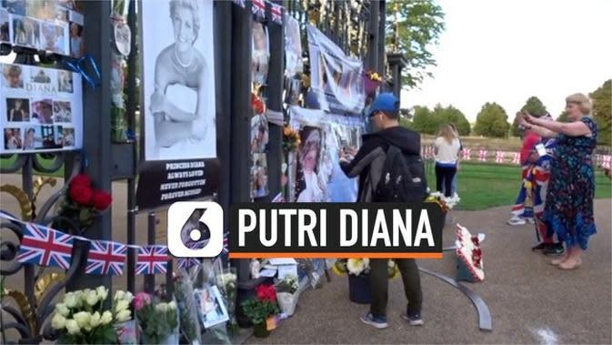 VIDEO: Simpatisan Putri Diana Peringati Kematiannya 23 Tahun Lalu