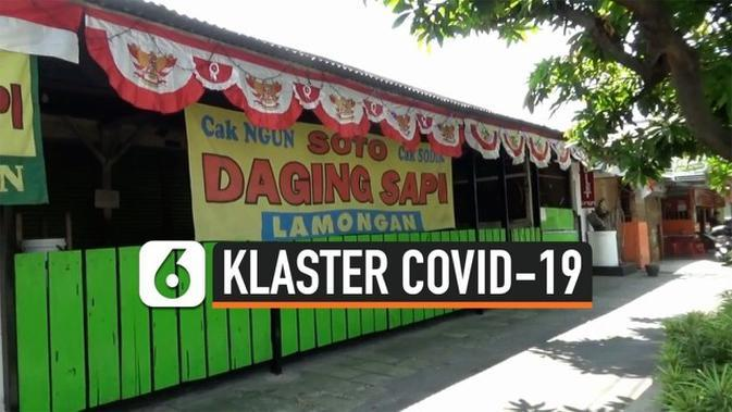 VIDEO: Warung Soto Lamongan Jadi Klaster Covid-19
