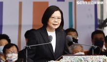 拱手致意 總統接見15國賀國慶外賓