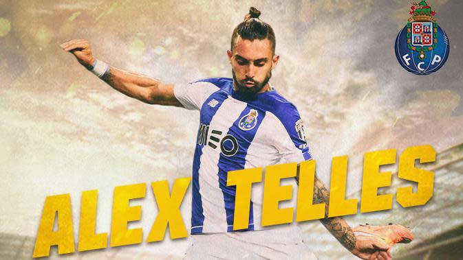 FC Porto - Alex Telles (Bola.com/Adreanus Titus)