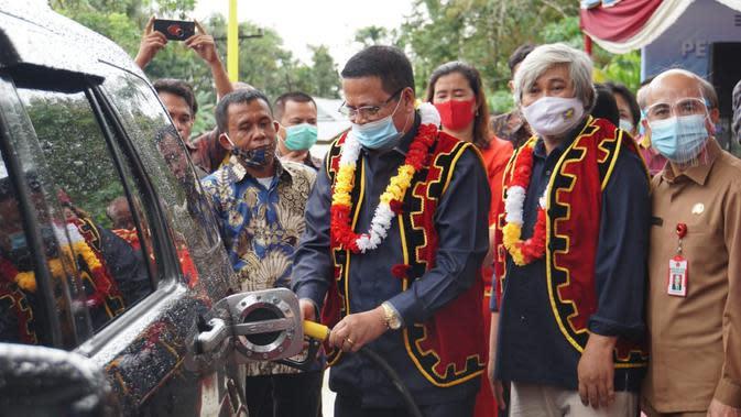 Kuota Jenis BBM Tertentu (JBT) untuk Kabupaten Nias Barat tahun 2020 adalah sebesar 170 ribu liter untuk minyak tanah, dan sebanyak 908 ribu liter produk Biosolar.
