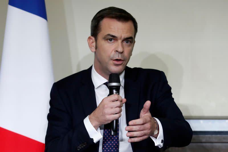 French health minister says no short-term risk of COVID hospital logjam