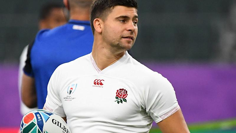Ben Youngs, pictured here in action for England at the Rugby World Cup.