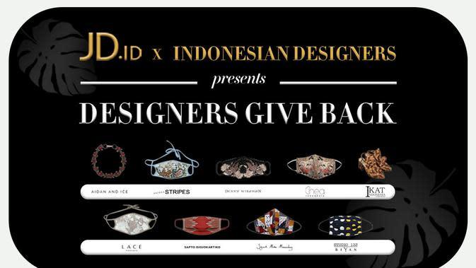 Designers Give Back. Sumber foto: Document/JD.id.