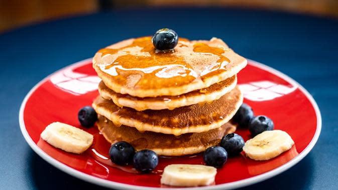 Ilustrasi pancake (Dok.Unsplash)